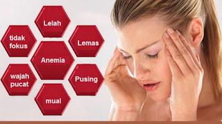 8 Makanan Sebagai Obat Anemia Alami
