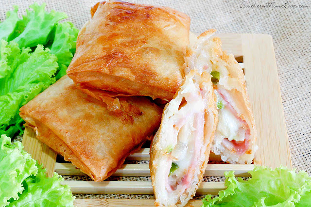 Hawaiian Ham & Cheese Pockets