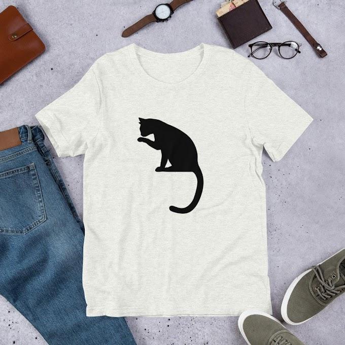 Women's T-shirt, Cat lovers Tshirt, Cat T-shirt, Pets