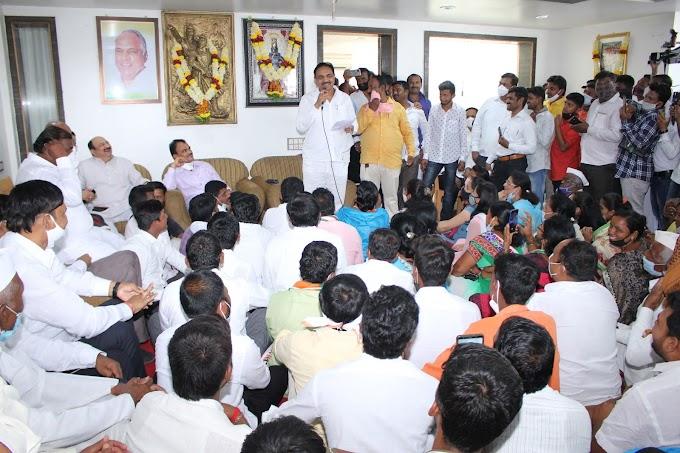 जनतेचा विश्वास व स्व.भारतनाना यांनी केलेल्या विकास कामांवरच ही पोटनिवडणुक जिंकणार - ना.श्री जयंतराव पाटील