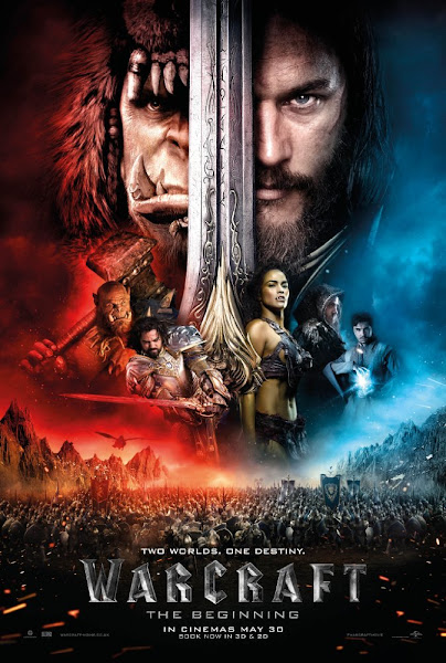 Poster of Warcraft 2016 720p Hindi HDRip Full Movie Download