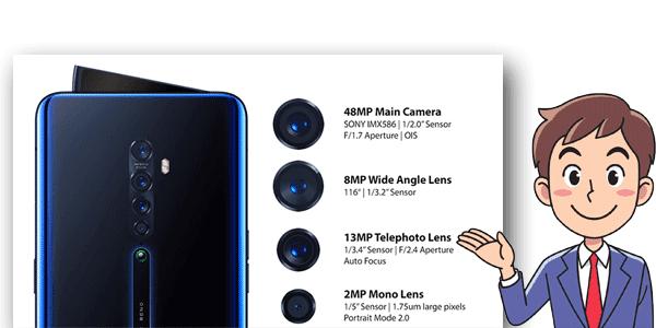 مواصفات هاتف Oppo Reno 2 الجديد+السعر
