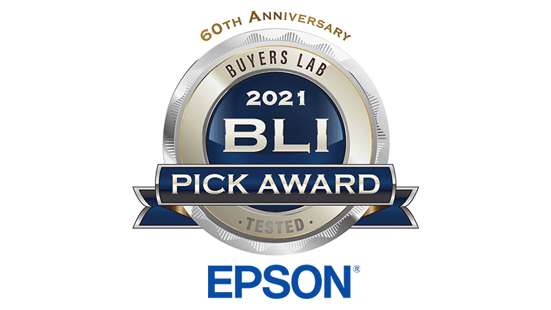 Epson printers and scanners win BLI Summer 2021 Pick Awards from Keypoint Intelligence