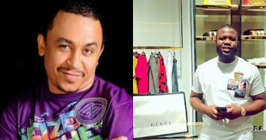 Daddy Freeze's Gucci shoes gets a seal of authenticity by Hushpuppi