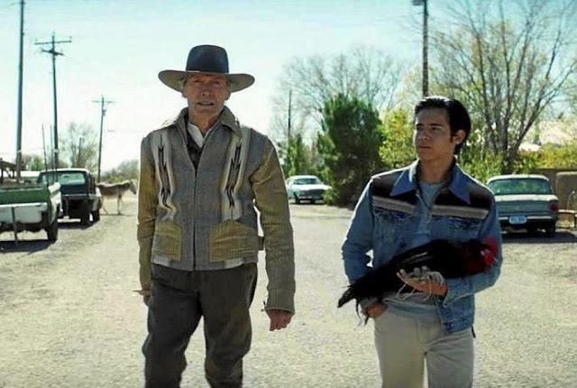 Clint Eastwood y Eduardo Minett.