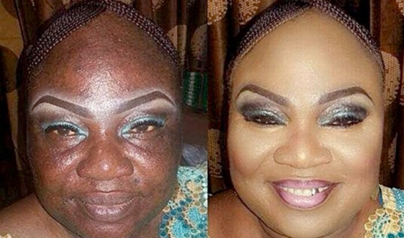 Black Woman Makeup Transformation | Images HD Download