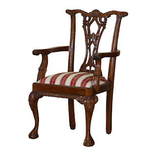 chippendale chair carver
