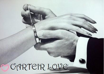 Bransoletki Cartier Love