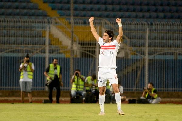 اهداف مباراة الزمالك والانتاج الحربي (2-0) الدوري المصري