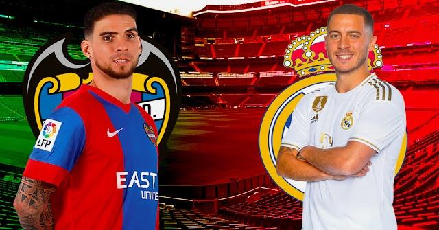 مباراة ريال مدريد ضد ليفانتي الجولة الرابعة من الدوري الإسباني