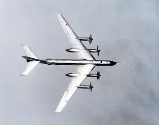 Pesawat Bomber Tu-95 Rusia