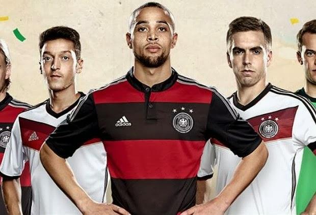 60773900b7 Alemanha mostra camisa da Copa inspirada no Flamengo. - TAPERUABA NOTÍCIAS