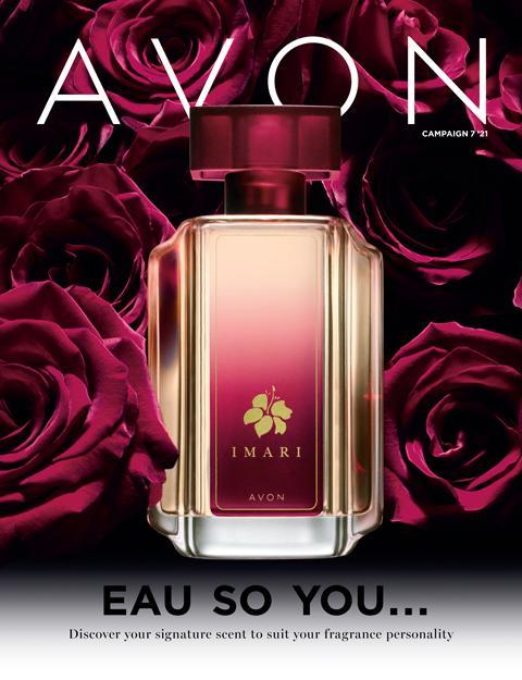 AVON Brochure Campaign 7 2021 - Eau So You!