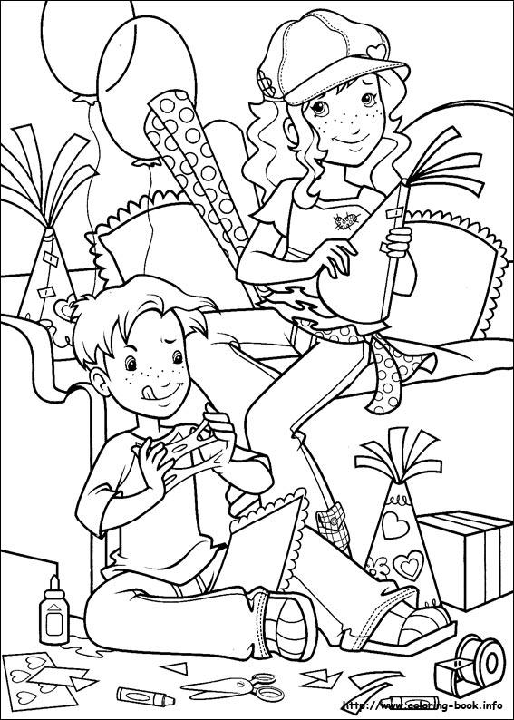 disegni da colorare: Disegni da colorare : HOLLY HOBBIE