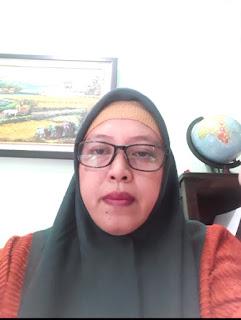 20 Mei 2020, Ketua Ketua MGMPG Kabupaten Jember Menutup Kegiatan MGMP Semester Genap