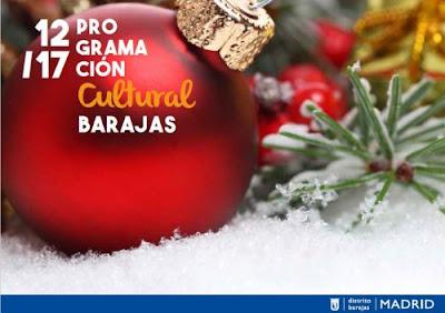 Programación de Navidad 2017 en el distrito de Barajas