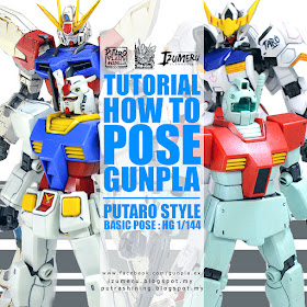 Tutorial: Basic Gunpla Posing Putaro's Style [EFSF] PART 01