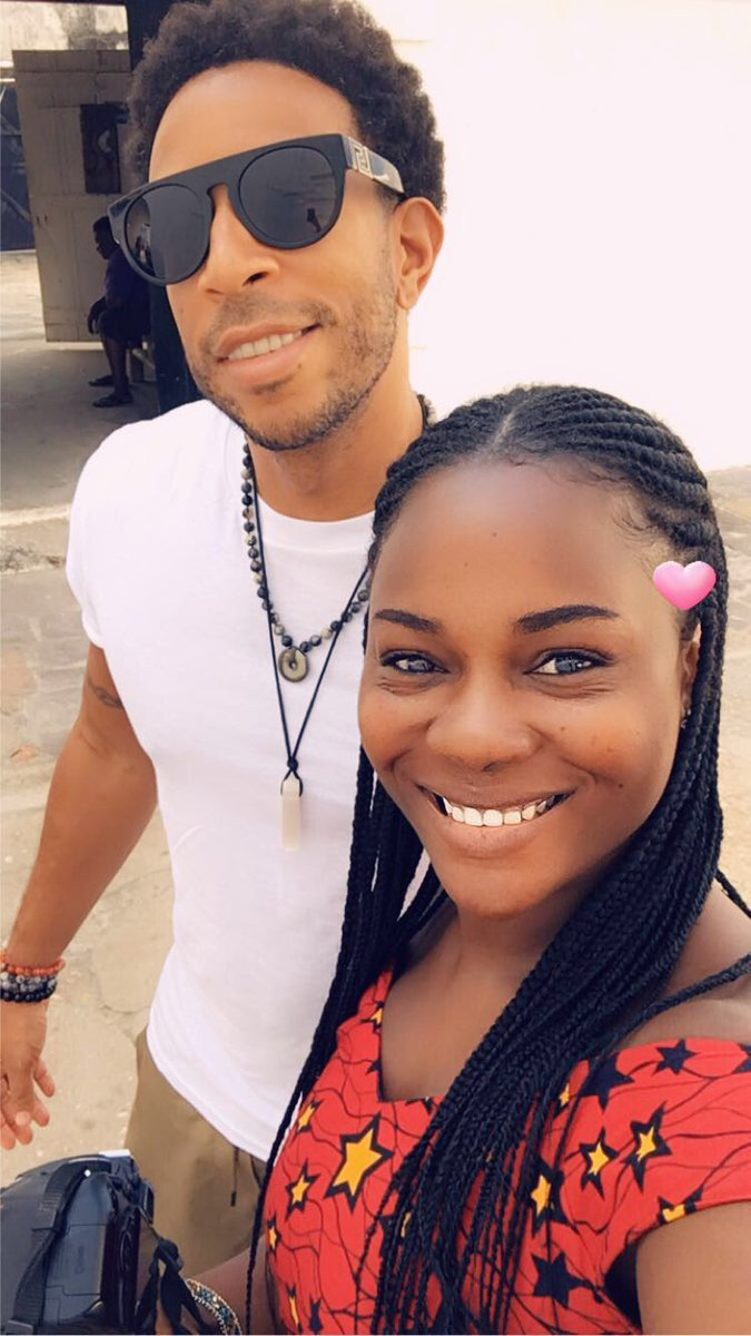 American rapper and actor Ludacris in Ghana, visits Cape Coast Castle