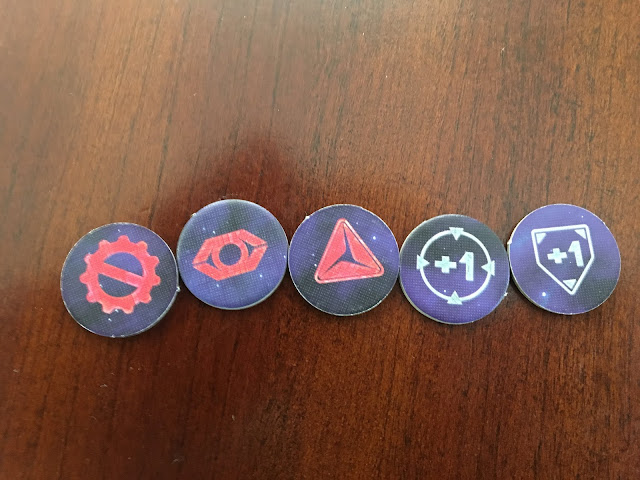 Robotech: Force of Arms tokens board game