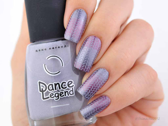 Dance Legend: Moorland ( Smoky Collection ), Messy Mansion: MM40, スタンピングネイル