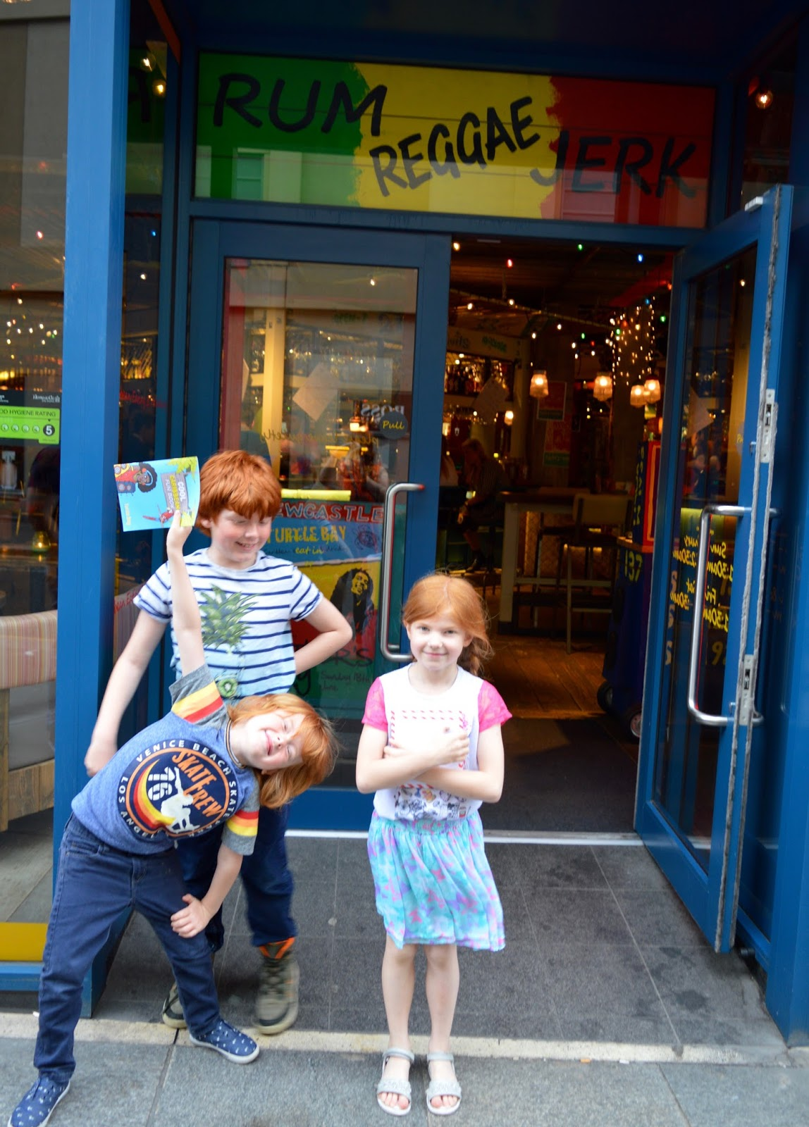Turtle Bay Newcastle | Children's Menu Review