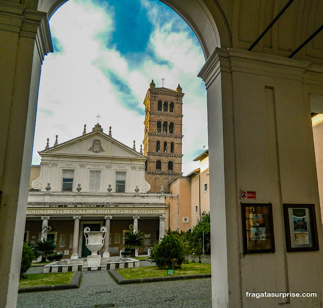 Basílica de Santa Cecília in Trastevere, Roma