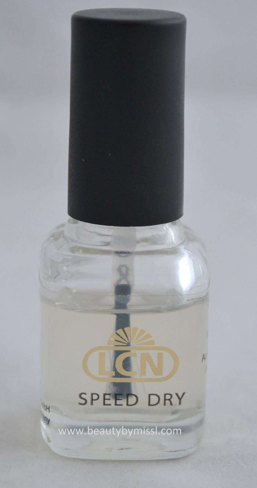 LCN Speed Dry pealislakk