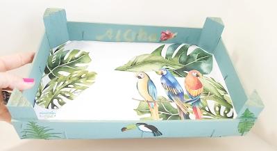 caja de Fresas Tropical