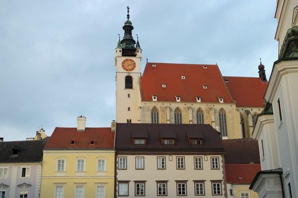 autriche wachau krems piaristenkirche