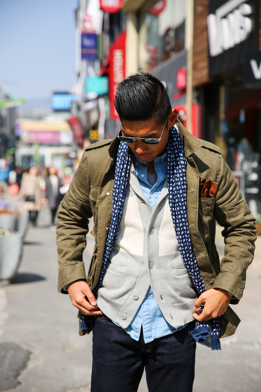 Busan, South Korea, Smart Casual, menswear, Levitate Style, Leo Chan