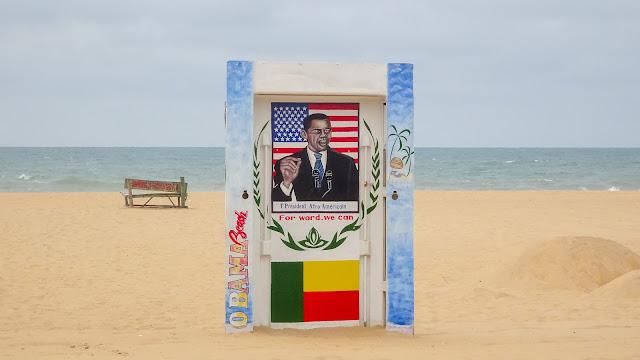 Most popular beach in Benin