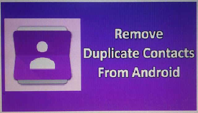 How to Remove Duplicate Contact