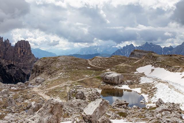 Rundtour Drei Zinnen - Dreizinnenhütte  Wanderung Sextner Dolomiten  Wandern Südtirol  Tourenbericht Tre Cime di Lavaredo  GPS-Track 01