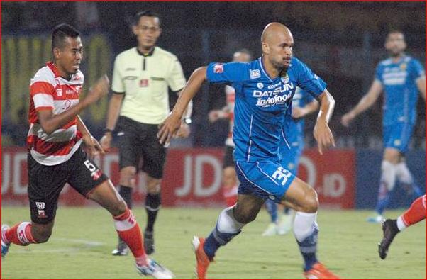 Persib Bandung Bertekuk Lutut di Hadapan Madura United