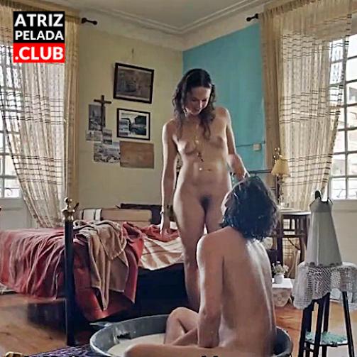 """Catarina Wallenstein pelada no filme """"Um Animal Amarelo"""""""