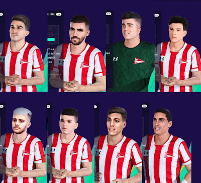 PES 2021 Facepack Estudiantes by Unknown Facemaker