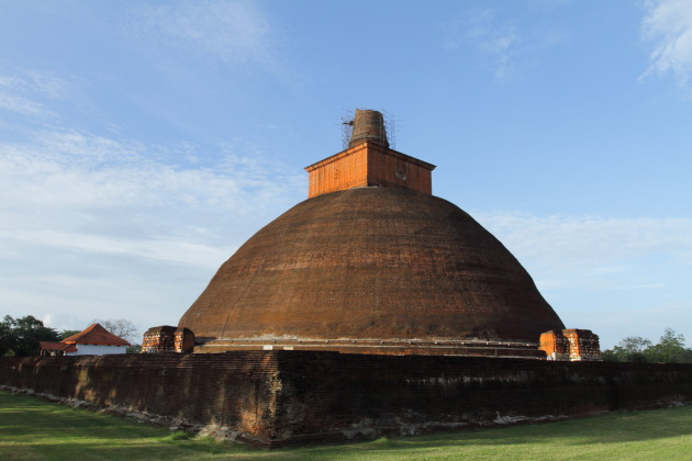 Anuradhapura's Jetavana - third largest structure of the ancient world after the Great Pyramids at Giza