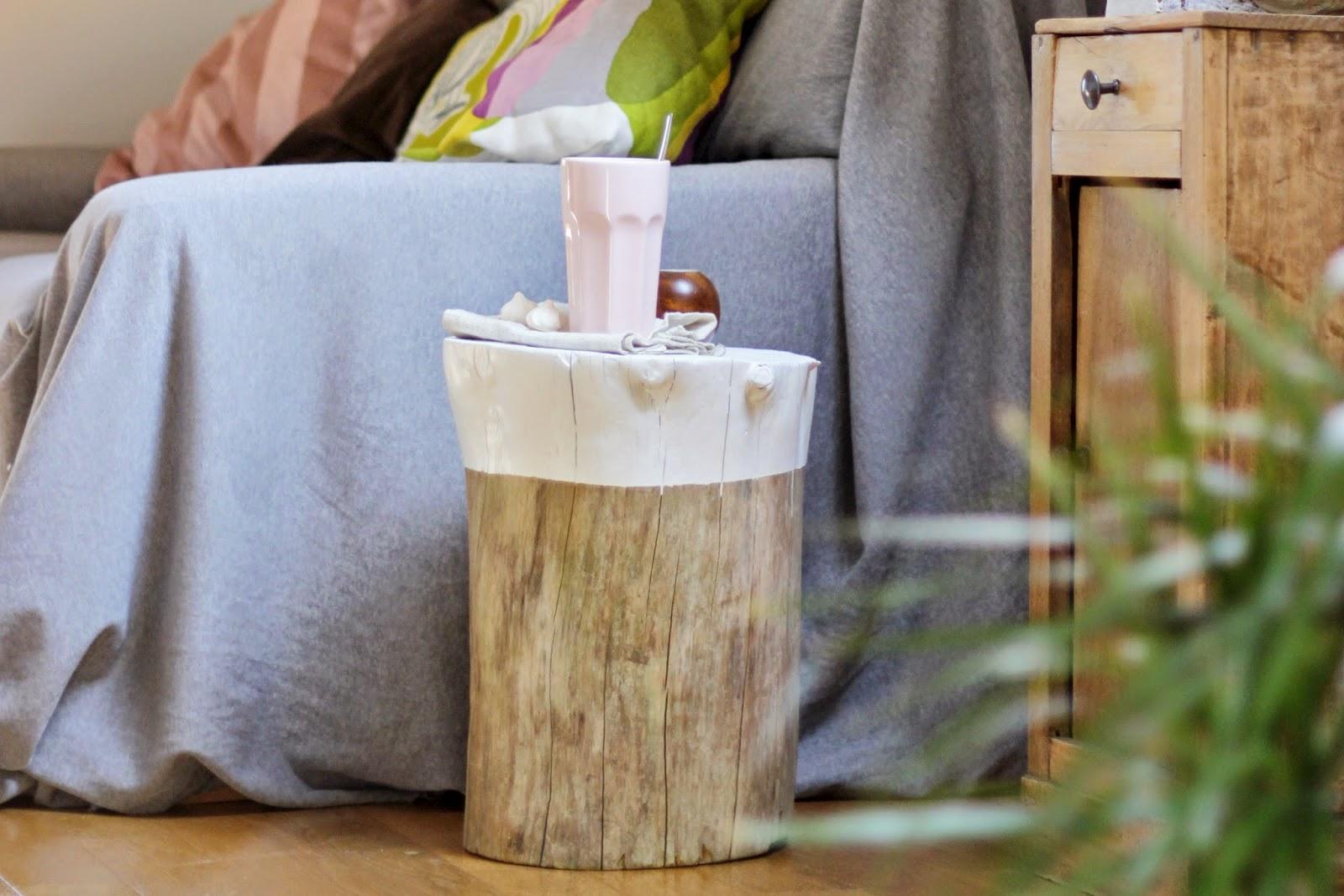 mademoiselle sab diy table tronc. Black Bedroom Furniture Sets. Home Design Ideas