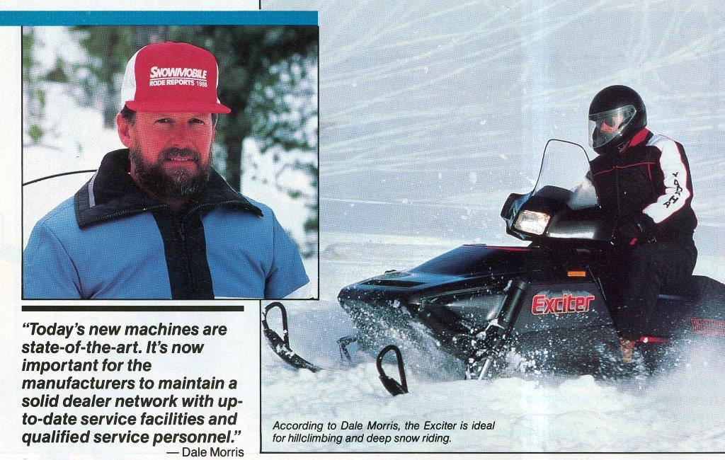 CLASSIC SNOWMOBILES OF THE PAST: DALE MORRIS'S 1988 YAMAHA