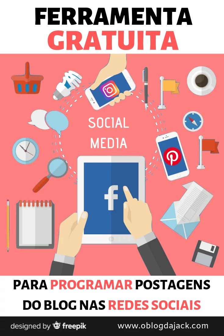 Programe suas postagens nas redes sociais de graça
