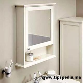 small bathroom mirror cabinet