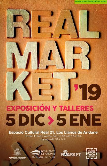 Cultura abre el plazo de presentación de artistas interesados en exponer en el Real Market 2019 de Los Llanos de Aridane