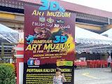 Pameran 3D Art Muzium Negeri Kelantan