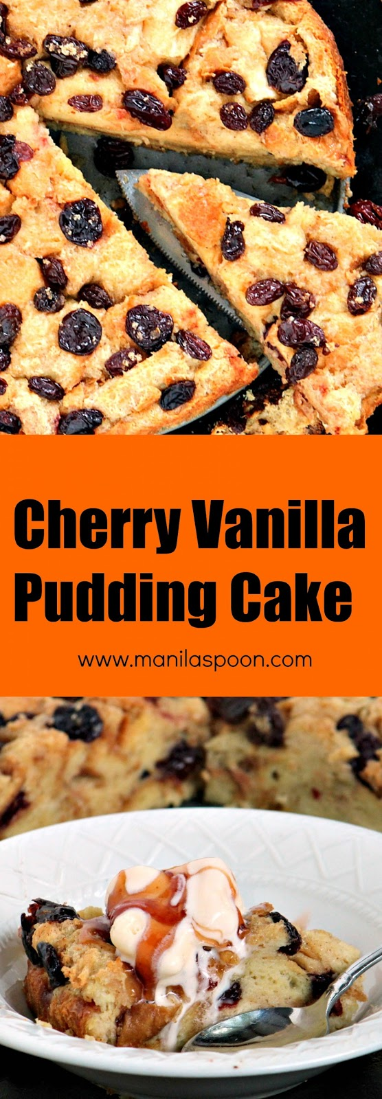 Utterly buttery and loaded with fruits, this vanilla-flavored bread pudding cake is the yummiest breakfast or brunch treat! Use cherries, cranberries or your favorite dried berries to personalize it.