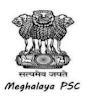 Meghalaya Public Service Commission (MPSC)Recruitment 2021