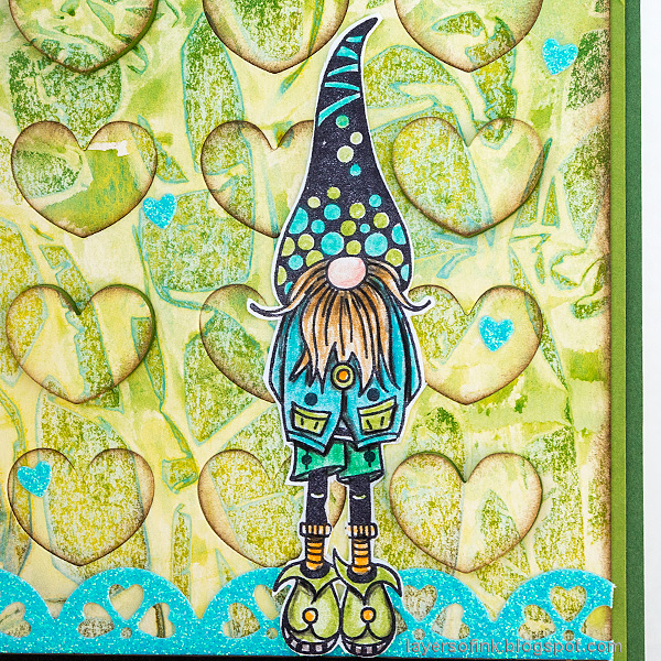 Layers of ink - Heart Background Card Tutorial by Anna-Karin Evaldsson.