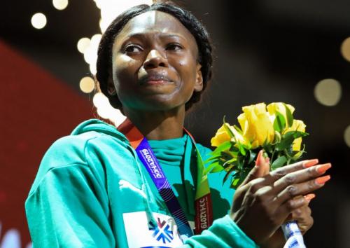 Nigeria's Ese Brume cruises to Women's Long Jump final