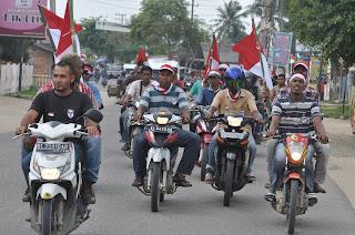 Jaga Damai Aceh, Eks GAM Kibarkan Bendera Merah Putih