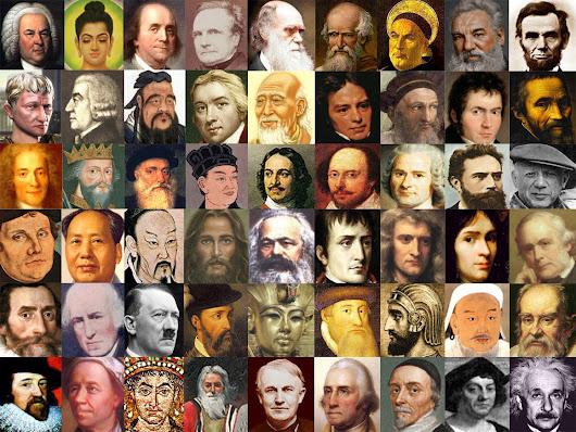 100 Tokoh Dunia Paling Berpengaruh Sepanjang Masa