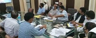 21 परीक्षा केन्द्रों पर होगी अंक सुधार परीक्षा    #NayaSaberaNetwork